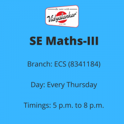 SE - Maths-III (New) (ECS)