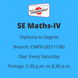 SE - Mathematics-IV (CMPN)...