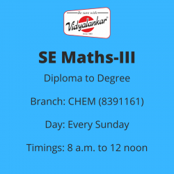 SE - Mathematics-III (CHEM)...