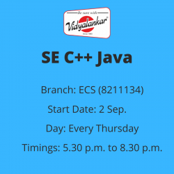 SE - C++ and Java...