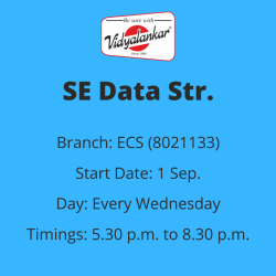 SE - Data Structures &...